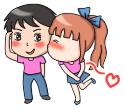 NungNing Couple sticker #10236578