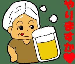 Cheerful wife sticker #10241753