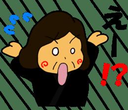 Cheerful wife sticker #10241762