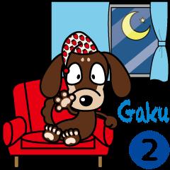 "The M.Dachshund's name is ""Gaku"". Part2"