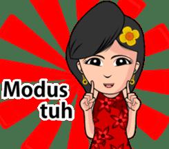 Gadis Kembang Kota sticker #10243360