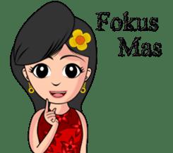Gadis Kembang Kota sticker #10243362