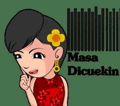 Gadis Kembang Kota sticker #10243369