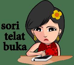 Gadis Kembang Kota sticker #10243371