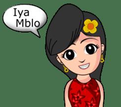 Gadis Kembang Kota sticker #10243372