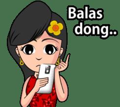 Gadis Kembang Kota sticker #10243373