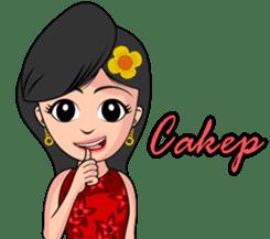 Gadis Kembang Kota sticker #10243383