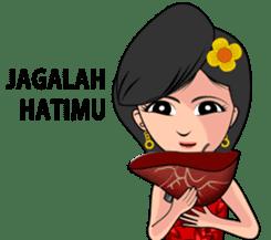 Gadis Kembang Kota sticker #10243386