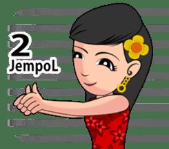 Gadis Kembang Kota sticker #10243397