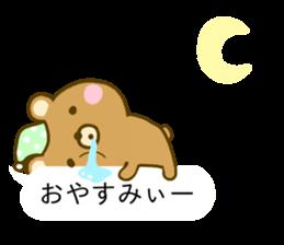 Bear Balloon no kumasan sticker #10257101