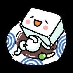 Tofu in Tokyo.