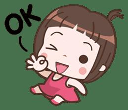 Cutie Pie Girl sticker #10269125