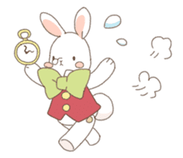 Cat ear girl Necoco&Rabbit ear girl Rosy sticker #10270640