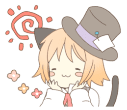 Cat ear girl Necoco&Rabbit ear girl Rosy sticker #10270646