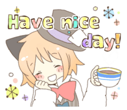 Cat ear girl Necoco&Rabbit ear girl Rosy sticker #10270653