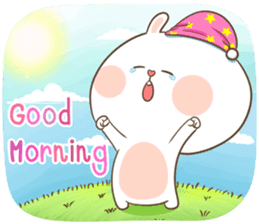 TuaGom : Puffy Rabbit sticker #10274056