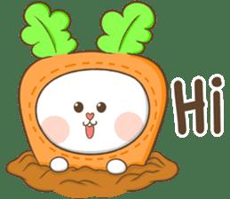 TuaGom : Puffy Rabbit sticker #10274057
