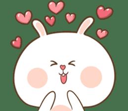 TuaGom : Puffy Rabbit sticker #10274058
