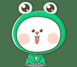 TuaGom : Puffy Rabbit sticker #10274059