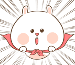 TuaGom : Puffy Rabbit sticker #10274062