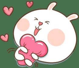 TuaGom : Puffy Rabbit sticker #10274064