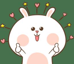 TuaGom : Puffy Rabbit sticker #10274065