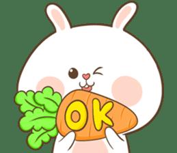 TuaGom : Puffy Rabbit sticker #10274070