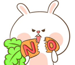 TuaGom : Puffy Rabbit sticker #10274071