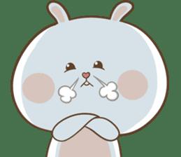 TuaGom : Puffy Rabbit sticker #10274082