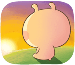 TuaGom : Puffy Rabbit sticker #10274086
