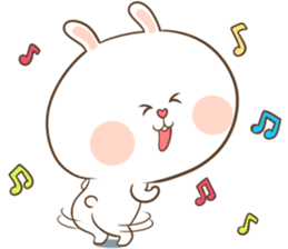 TuaGom : Puffy Rabbit sticker #10274091