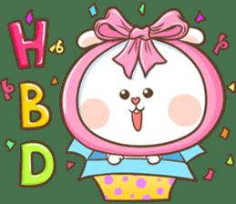 TuaGom : Puffy Rabbit sticker #10274092