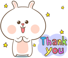 TuaGom : Puffy Rabbit sticker #10274093