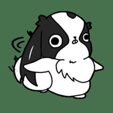 Japanese chin Mochio vol.2 sticker #10275577