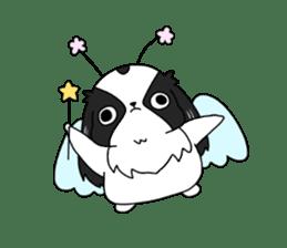 Japanese chin Mochio vol.2 sticker #10275578