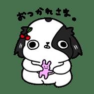 Japanese chin Mochio vol.2 sticker #10275590