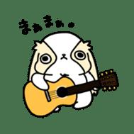 Japanese chin Mochio vol.2 sticker #10275593