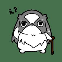 Japanese chin Mochio vol.2 sticker #10275597
