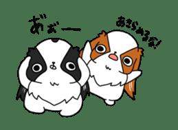 Japanese chin Mochio vol.2 sticker #10275610