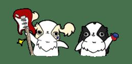 Japanese chin Mochio vol.2 sticker #10275611