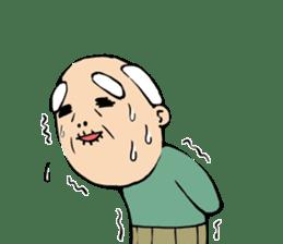 Grandpa of low back pain2(ENG) sticker #10278032