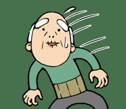Grandpa of low back pain2(ENG) sticker #10278040