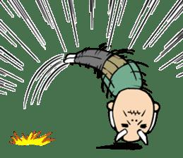 Grandpa of low back pain2(ENG) sticker #10278054