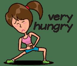 Healthy Sporty Girl sticker #10286649