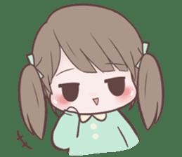 Chubby Girl (Eng) sticker #10289161