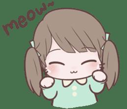 Chubby Girl (Eng) sticker #10289165