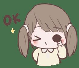 Chubby Girl (Eng) sticker #10289189