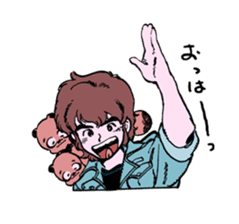 TANUKI vol.1 sticker #10299384