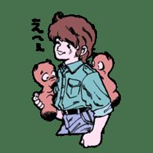 TANUKI vol.1 sticker #10299397
