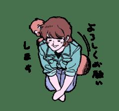 TANUKI vol.1 sticker #10299399